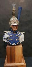 Napoleonic Dragoon Bust - Professionally Painted 200mm Scale