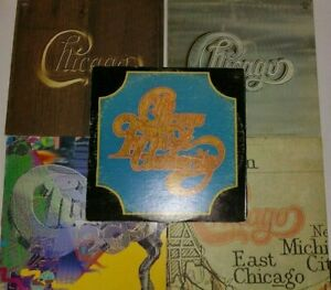 Lot of 5 Chicago Albums - Vinyl Records