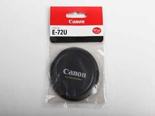 One pair New 72mm Snap-On Lens Cap E-72U for Canon EOS Rare * Out of produuction
