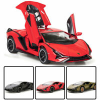 1:32 Lamborghini Sian FKP 37 Model Car Diecast Toy Vehicle Kids Gift Collection