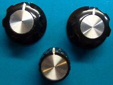 Boss Guitar Effects Pedal Set of 3 Silver Control Knobs Fits Many Models
