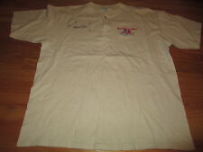 """Lee Greenwood signed Country """"God Bless the Usa"""" Embroidered (Xl) Shirt"""