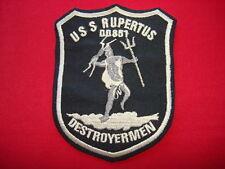 US Navy USS RUPERTUS DD851 DESTROYERMEN - Vietnam War Patch
