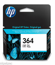 Hp 364 tinta negra para fotografías cb317ee Hp364 C5380 C6380 D5460
