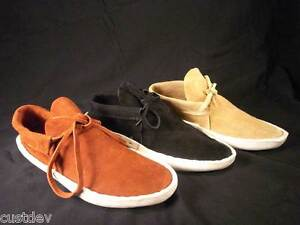 BIG Black,Rust,Sand Navajo Thick Sole Lowcut Moccasins