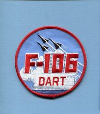 CONVAIR F-106 DELTA DART USAF FIS INTERCEPTOR Fighter Squadron Jacket Patch