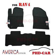 Premium Quality Tailor/custom made All-Weather Rubber Floor Mats for Toyota RAV4