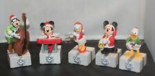 New Listing2013 Hallmark Disney Wireless Band Christmas Set of (5) Interactive Music