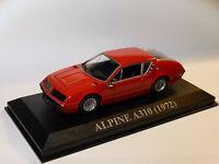 Alpine Renault A310 de 1972  au 1/43 de IXO / Altaya