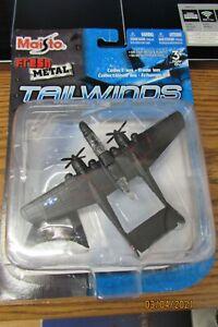 maisto fresh metal tailwinds diecast P-61 Black Widow Aircraft new in pack 2007