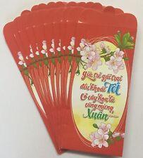 10pcs-set Red Envelopes, Bao Lì Xì - Già Trẻ Gái Trai ��u Khoái Tết