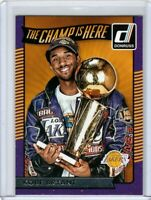 2016-17 Kobe Bryant Panini Donruss The Champ Is Here #7 Los Angeles Lakers