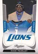 2011 Prestige #269B Nick Fairley Draft SP!