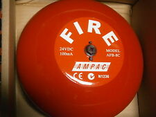 FIRE ALARM BELL AMPAC 24VDC AFB-8C  NEW IN BOX 100mA