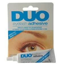 PEGAMENTO ADHESIVO DUO PESTAÑAS POSTIZAS WATERPROOF COLOR TRANSPARENTE