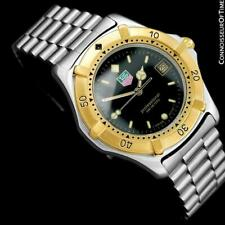 TAG HEUER PROFESSIONAL 2000 Mens Divers SS & 18K GP Watch - Mint with Warranty