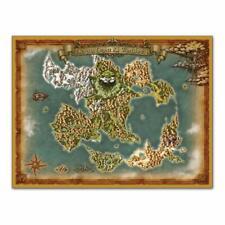 Mapa del mundo paño cuadrado Dragon Quest XI ecos de una evasiva edad S
