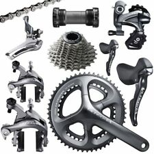 SHIMANO Ultegra 6800 8 Piece 11 speed Group Set 175 and 50/34 with 11/28
