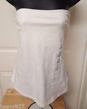 H&M NWT Womens White Halter Top Shirt Blouse Size L