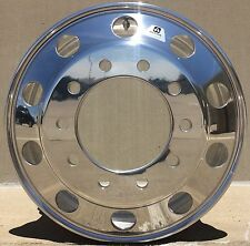 Alcoa DuraBright Evo 22.5 10Lug Hub Pilot Front Wheel Round Hole Design 883671DB