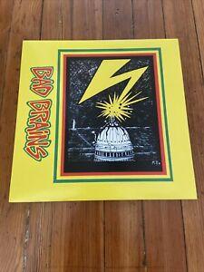 Bad Brains SELF TITLED Debut Album Black Vinyl Record LP