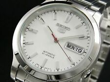 Seiko Analog Business Watch 5 Automatic Silver Mens SNK789K1