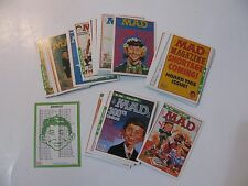 1992 MAD MAGAZINE COMPLETE 55 TRADING CARD SET SERIES 2   LIME ROCK   EXC COND