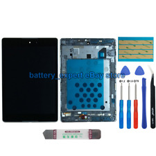 US FOR HTC Google Nexus 9 sliver Display LCD Touch Screen Display with Frame