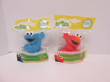 Sesame Street Figures Elmo Cookie Monster Playset Replacement Cake Toppers Wave