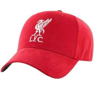 LIVERPOOL FC ADULT BASEBALL CAP RED - OFFICIAL FOOTBALL GIFT, LFC