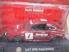 Alfa Romeo 147 Cup Racing 2003 #1 EUROPEAN ALFA CHALLENGE m4 1:43