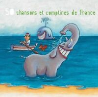 VARIOUS ARTISTS - 50 CHANSONS ET COMPTINES, VOL. 3 USED - VERY GOOD CD