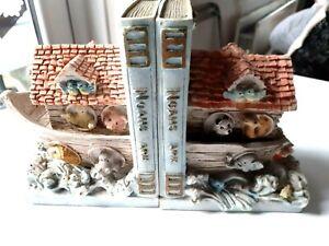 Noah's Ark Bookends
