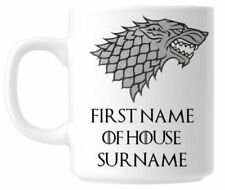 Personalised Game of Thrones Mug Cup - Stark Christmas Birthday Present Gift