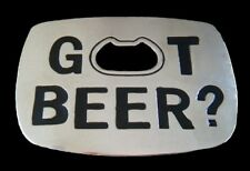 Got Beer Belt Buckle Bottle Opener Cerveza Belts Buckles