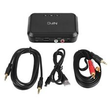 NFC Wireless Bluetooth 3.5mm AUX Audio Stereo Music Home Car Receiver Adapter