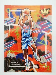 Panini Court Kings 2020-21 carte card N31 James Harden #42 Brooklyn Nets