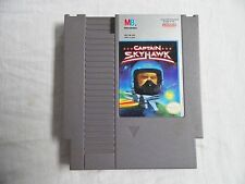 Captain Skyhawk w/Sleeve Nintendo Entertainment System NES Game Tested Working
