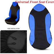 1x Front High Back Bucket Car Seat Covers Sports Modeling Interior Accessories