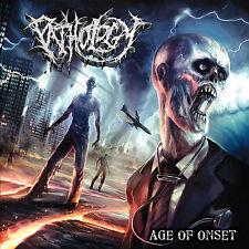 "PATHOLOGY ""Age of Onset"" death metal CD"