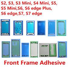 50x Original Front LCD Frame Sticker Glue for Samsung S3 S4 S5 S6 S7 edge Plus