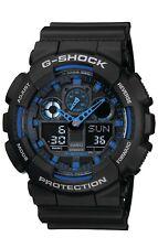 Casio G-Shock Men's GA-100-1A2ER Combo Analogue & Digital Sports Tactical Watch