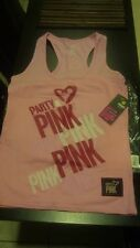 NEW Zumba Comfy Party In Pink Racerback Tank Top in Medium ~ Free Shipping!