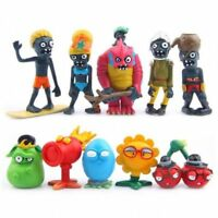 10ps/set New Plants vs. Zombies 2 dolls Anime action figure pvz PVC Kids Gift 10