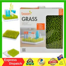 Boon Green Grass Countertop Drying Rack for Baby Bottle Feeding Holder Dryer NEW