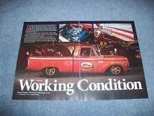 """1965 Ford F-100 Rust-o-Rod Article """"Working Condition"""" Patina Shortbed"""
