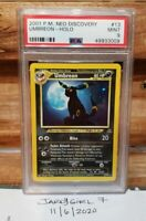Pokemon Unlimited Neo Discovery Holo #13/75 Umbreon MINT PSA 9 *LOWEST*