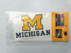 "University Of Michigan Color Shock 4.5""x 3"" Vinyl Decal"