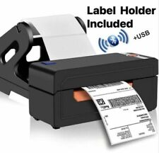 Beeprt High Speed Thermal Shipping Barcode Label Printer 4x6In USB / Bluetooth