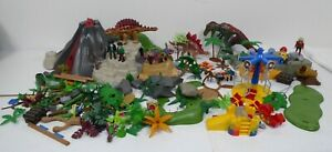 Playmobil Bundle Dinosaurs Playground Trees Figures 3 Kgs Not Complete Sets BNC4